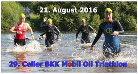 Celler Triathlon 2016 - Save the Date!